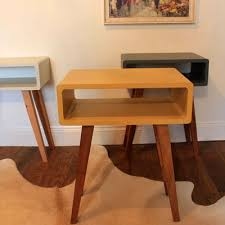 Habitat Side Table Danish Style Edith Side Tables By M And Lu Retro To Go