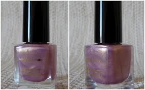 max factor max effect mini nail polish in sunny pink lovely