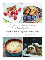 week three keto low carb 7 day menu plan keto menu plan menu