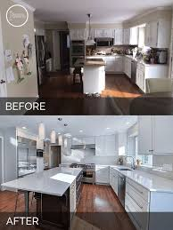 Kitchen Remodeling Designs by Best 25 Before After Kitchen Ideas On Pinterest Before After