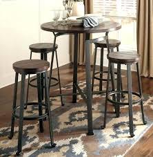 high pub table set bistro table sets 3 bistro table set in antique bronze tea rose