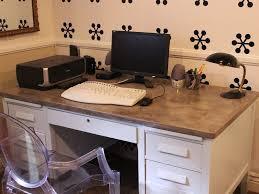 plateau pour bureau tuto pour fabriquer un bureau en béton bricobistro