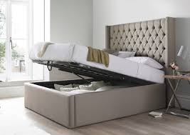 Islington Upholstered Ottoman Bed Frame King Size Beds Bed Sizes