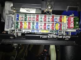 bypass 1 0 12v fuel pump relay query