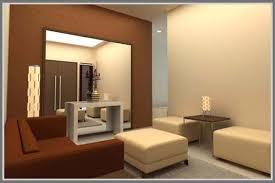 Cermin Brown cermin di interior minimalis