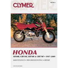 amazon com clymer honda xr50r crf50f xr70r u0026 crf70f 1997 2009