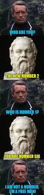 Six Picture Meme Maker - i m not a number aka the meme prisoner imgflip