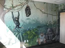 arizona commercial art gallery i love murals by gina ribaudo rainforest mural