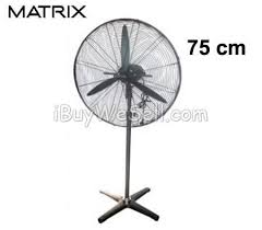 Pedestal Fan With Metal Blades Buy And Sell For Free Online Ibuywesell Matrix 75cm Industrial