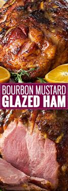 bourbon orange glazed ham the chunky chef