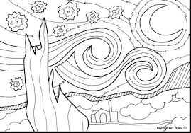 coloring page for van starry night coloring pages van trend in page idea 19 chacalavong info