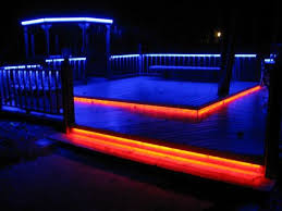 Led Light Color Led Deck Lighting In Color 12 Steps With Pictures