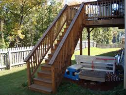Outside Banister Railings Outside Stair Railing Ideas How To Replace Outside Stair Railing