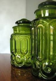 green canisters kitchen colored glass kitchen canisters foter