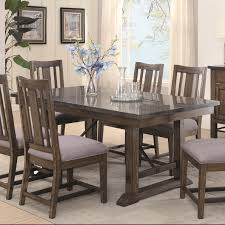 buy willowbrook rustic industrial dining table with bluestone top willowbrook rustic industrial dining table with bluestone top