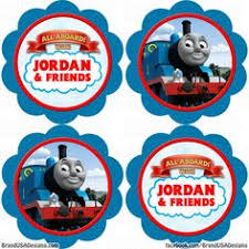 free printable thomas train cup cake toppers google