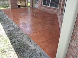 Concrete Patio Houston Triyae Com U003d Backyard Stamped Concrete Patio Ideas Various