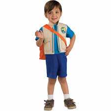halloween costume for boys go diego go child halloween costume walmart com