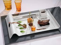 assiette de cuisine des assiettes dignes d un grand restaurant