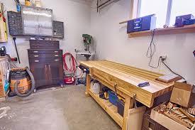 michael u0027s garage workshop the wood whisperer