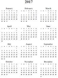 print calendars for 2017 2017 calendar printable free pinteres