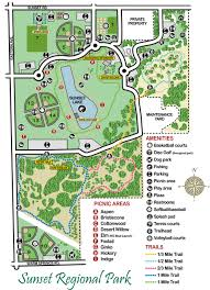 Utah State Parks Map by Sunset Park Clark County Regional Park