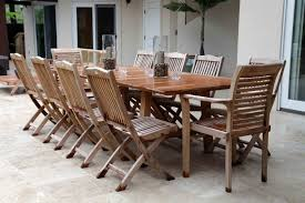 Teak Outdoor Dining Tables Why Teak Outside Outdoor Furniture Peace Room