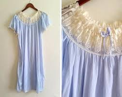 vintage night gown etsy