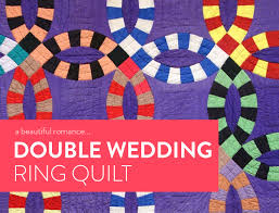 wedding ring quilt a beautiful the wedding ring quilt suzy quilts