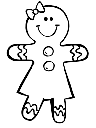 free gingerbread man coloring pages for kids coloringstar
