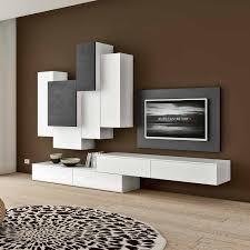 wall mounted tv back panel 2 wooden base units and 6 wall mounted uni