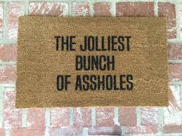 ideas funny doormats funny door matts go away doormats