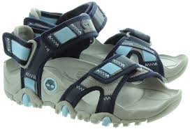 timberland 3837 ladies sandals in navy