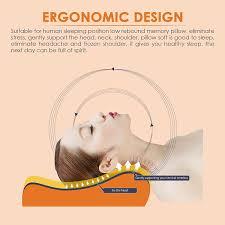 best bed pillows for neck pain contour memory foam pillow eseoe best sleep innovations cervical