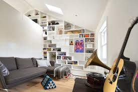 Loft Ideas by View In Gallery Loft Shelving Interior Design Ideas White Loft