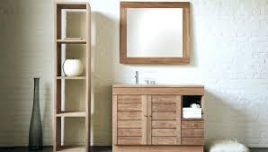 Wooden Bathroom Storage Cabinets Wood Bathroom Storage Cabinets Alanwatts Info