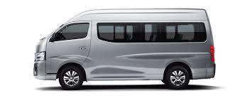 silver nissan nissan urvan minivan and microbus nissan abu dhabi