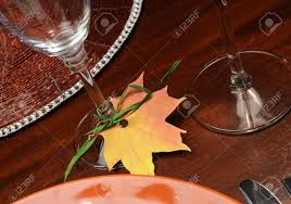 thanksgiving theme beautiful autumn fall theme thanksgiving dinner table place