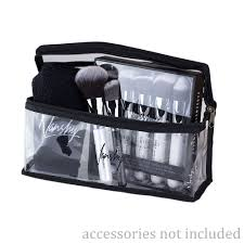 makeup bag clear makeup bag travel cosmetic pouch by nanshy