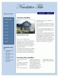 powerpoint newsletter template