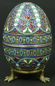 decorative eggs april daz challenge faberge
