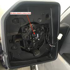 ford f150 replacement mirror damaged side mirror do need do replace the mirror motor ford