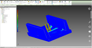inventor fea cutaway model view for presentation autodesk