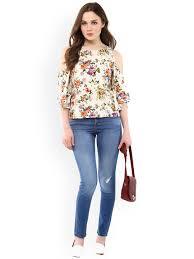 ladies tops buy women tops u0026 tshirts online myntra