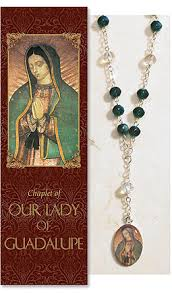 our of guadalupe rosary our of guadalupe chaplet