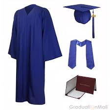 graduation diploma covers honor package 12 colors matte cap gown stole diploma cover
