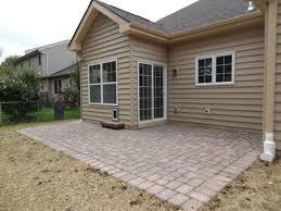 How To Install A Paver Patio Installing Paver Patio Free Home Decor Oklahomavstcu Us