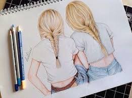 pictures friendship drawing ideas drawing art gallery