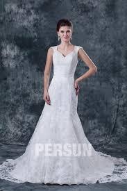 robe de mari e simple dentelle robe de mariée en dentelle avec conception originale persun