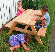 kids outdoor picnic table kids outdoor picnic table outdoor designs
